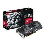 Видео карта AMD Radeon RX 580, 4GB, ASUS DUAL RX580 O4G, PCI-E 3.0, GDDR5, 256 bit, DVI, HDMI, DP image