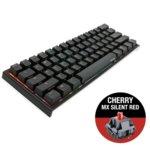 Клавиатура Ducky One 2 Mini RGB, Cherry MX Silent Red, механична, RGB подсветка, USB, черна image