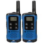 Walkie-Talkie Motorola TLKR T41, PMR446, 8 канала, до 4 km, LCD, син image