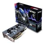Видео карта AMD Radeon RX 580, 4GB, Sapphire Nitro+, PCI-E 3.0, GDDR5, 256-bit, DisplayPort, HDMI, DVI image
