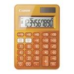 Калкулатор Canon LS-100K, LCD дисплей, 10 цифрен, оранжев image