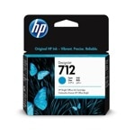 HP 712 29-ml Cyan Ink Cartridge 3ED67A