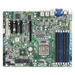Дънна платка за сървър Tyan S5502WGM3NR, LGA1156, DDR3 RDIMM/UDIMM, 3x LAN1000, 6x SATA 3Gb/s, RAID 0/1/10/5, 4x USB 2.0, ATX image