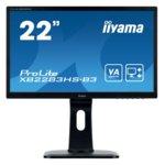 "Монитор Iiyama Prolite XB2283HS-B3, 21.5""(54.61 cm) VA панел, FHD, 4ms, 80000000:1, 250 cd/㎡, HDMI, VGA image"