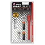 Фенер Mini MAGLITE LED, 2x батерии ААА, 87lm, водоустойчивост, блистер, червен image