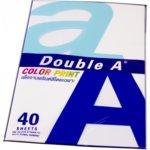 Хартия Double A Color Print, A4, 90 g/m2, 40 листа, син image