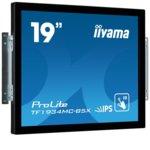 "Монитор Iiyama TF1934MC-B5X, 19""(48.26 cm), IPS LED панел, SXGA, , 14ms, 225 cd/m2, HDMI, DisplayPort, VGA, черен image"