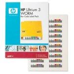 HP LTO3 Ultrium WORM Bar Code label pack (110 pack) image