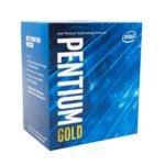 Intel Pentium Gold G5500 Coffee Lake, двуядрен (3.8GHz, 4MB Cache, 350MHz-1.10GHz GPU, LGA1151) BOX image