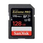 128GB SDXC SanDisk Extreme Pro, Class 10 UHS-I, скорост на четене до 170 MB/s, скорост на запис до 90 MB/s image