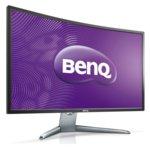 """Монитор BenQ EX3200R (9H.LFCLA.TSE), 31.5""""(80.01cm) извит дисплей, VA панел, Full HD, 4ms, 20 000 000:1, 300 cd/m², Display Port, miniDP, HDMI image"""