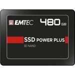 "Памет SSD 480GB Emtec Power Plus X150, SATA 6Gb/s, 2.5""(6.35 cm), скорост на четене 520 MB/s, скорост на запис 500 MB/s image"