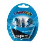 Слушалки MAXELL color BUDS, сини, тапи image
