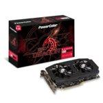 Видео карта AMD Radeon RX 580, 4GB, Power Color Red Dragon Radeon RX 580, PCI-E, GDDR5, 256bit, DisplayPort, HDMI, DVI image