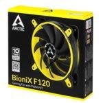 Вентилатор 120mm, Arctic BioniX F120 Yellow, 4-pin, 1800rpm image