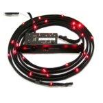 Led лента NZXT Sleeved LED Kit 1m Red, 1.0 m image
