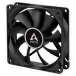 Arctic Fan F9 PWM PST (black) - 92mm/150-1800rpm