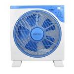 Настолен вентилатор бокс Esperansa ES 1760 BA12, 3 степени на скоростта, таймер 60 мин, 40W, бял/син image