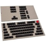 Капачки за механична клавиатура Glorious ABS Doubleshot Black, 104-Keycap, US Layout image