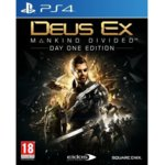 Игра за конзола Deus Ex: Mankind Divided Day 1 Edition, за PS4 image