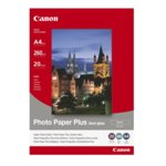 ХАРТИЯ CANON SG-201 A4 - PHOTO PAPER PLUS Semi - gloss  - A4 - 260gr. - заб.: 20л. image