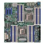 Дънна платка за сървър ASRock Rack EP2C612D24-4L, 2x LGA2011 R3, поддържа DDR4 LRDIMM/RDIMM, 4x LAN1000, 1x IPMI LAN port, 10x SATA3 6.0Gb/s(RAID 0/1/5/10), 2x USB 3.0, SSI EEB image