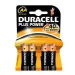 BATTERY DURACELL PLUS 1.5V LR6 4PACK