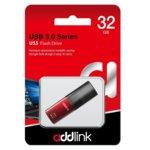 Памет 32GB USB Flash Drive, Addlink U55, USB 3.1, червена image