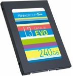 """Памет SSD 240GB TeamGroup L3 EVO, SATA 6Gb/s, 2.5""""(6.35 cm), скорост на четене 530MB/s, скорост на запис 470MB/s image"""