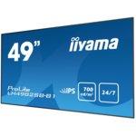 "Публичен дисплей Iiyama Prolite LH4982SB-B1 48.5""(123.2 cm) IPS LED дисплей, HDMI, Display Port, DVI, VGA image"