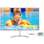 "Монитор 27""(68.58 cm) PHILIPS 276E7QDSW, PLS панел, Full HD, 5 ms, 20 000 000:1, 250cd/m², MHL-HDMI, DVI image"