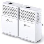 Powerline адаптер TP-Link AV1000 Gigabit TL-PA7010 KIT, 1000Mbps, до 300 м обхват, 2 устройства image