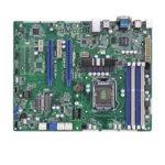 Дънна платка за сървър ASRock Rack E3C224-V+, LGA1150, DDR3 ECC UDIMM, 2x LAN1000, 4x SATA 6Gb/s, 2x SATA 3Gb/s, 2x SATA 6Gb/s, RAID 0, 1, 5, 10, RAID 0, 1, 2x USB 3.0, ATX image