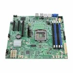 Дънна платка за сървър Intel S1200SPSR, LGA 1151, поддържа ECC UDIMM DDR4 RAM, 2x Lan1000, 6x SATA 6.0Gb/s RAID 0/1/10/5, 2x USB 3.0, Display Port, VGA, uATX image