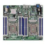 Дънна платка за сървър ASRock Rack EP2C612D16SM-2T, LGA2011, DDR4 RDIMM and LRDIMM, 3x LAN1000, 10x SATA 6Gb/s, 2x SATA 6Gb/s, RAID 0, 1, 5, 10, 2x USB 3.0, SSI CEB image