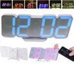 Часовник CLOCK SLT-9001, цифров, LED, Календар, Часовник, Аларма, Термометър , USB  image
