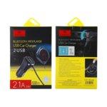 FM Трансмитер Earldom M17, Bluetooth, USB, 2.1A, различни цветове image