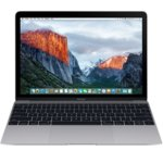 "Лаптоп Apple MacBook (MNYF2ZE/A)(сив), двуядрен Intel Kaby Lake Core m3-7Y32 1.2GHz/3.0GHz, 12.0"" (30.48 cm) WQHD Retina display(USB 3.1 Type C), 8GB LPDDR3, 256GB SSD, macOS Sierra, 0.92kg image"