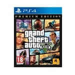 GTA V - Premium Online Edition (PS4)