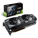 Видео карта Nvidia GeForce RTX 2070, 8GB, Asus Dual Advanced edition, GDDR6, 256 bit, 3x DisplayPort, HDMI, USB-C image