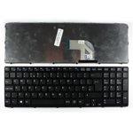 Клавиатура за SONY VAIO SVE15, UK, кирилица, черна image