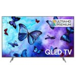 "Телевизор Samsung QE49Q6FNATXXH, 49""(124.46 cm), 4K Ultra HD QLED Smart TV, DVB-T2CS2 x 2, LAN, Wi-Fi, Bluetooth, 4x HDMI, 3x USB image"