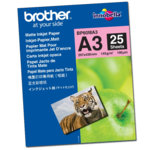 ХАРТИЯ BROTHER BP-60 A3 MATT PHOTO PAPER - A3 - P№ BP60MA3 - заб.: 25л. image
