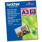 Фотохартия Brother BP-60, A3, матова, 145 g/m2, 25 листа image