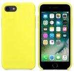 Калъф за Apple iPhone 7/8, силиконов, Soft touch, жълт  image