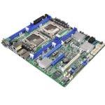 Дънна платка за сървър ASRock Rack, EP2C612D8-8R, LGA2011, DDR4 RDIMM and LRDIMM, 3x LAN1000, 10x SATA 6Gb/s, RAID 0, 1, 5, 10, 2x USB 3.0, ATX image