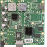 Рутер Mikrotik RB 911G-5HPACD, 5GHz, Wireless AC, 1x WAN 1000, PoE, 128MB RAM, 128MB Flash памет image