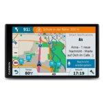 """Garmin DriveSmart 61 LMT-S, автомобилна навигация, 6.95"""" (17.7 cm) WQVGA мултитъч дисплей, Bluetooth, Wi-Fi, microSD слот, карта на цяла Европа image"""