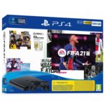 PS4 Slim 500GB + FIFA 21 + DS4