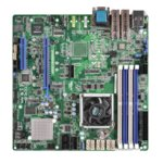 Дънна платка за сървър ASRock Rack D1540D4U-2O8R, 1x Intel Xeon D1540, DDR4 ECC DIMM, 2x 10G SFP+, 6x SATA 6Gb/s, 2x M.2 socket, 2x USB 3.0, uATX image